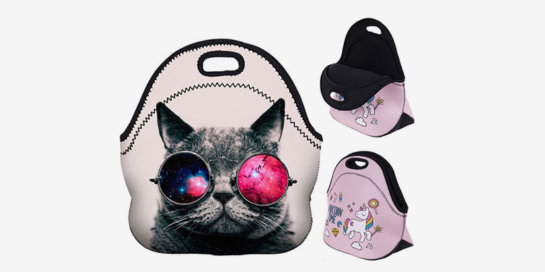 Stylish Design Neoprene Lunch Bags
